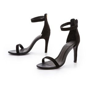 Joie Abbot Ankle Strap Suede Sandals